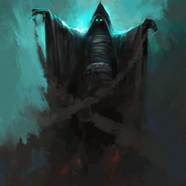 Bleach,Is,Performing,Magic,,Digital,Painting.